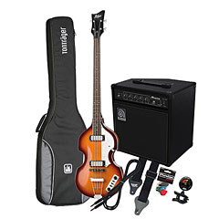 Höfner Ignition Beatles Bass VS / Ampeg BA-108 « Pack basse électrique