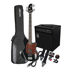 Ibanez Talman TMB100 BK / Ampeg BA-108 « E-Bass Set