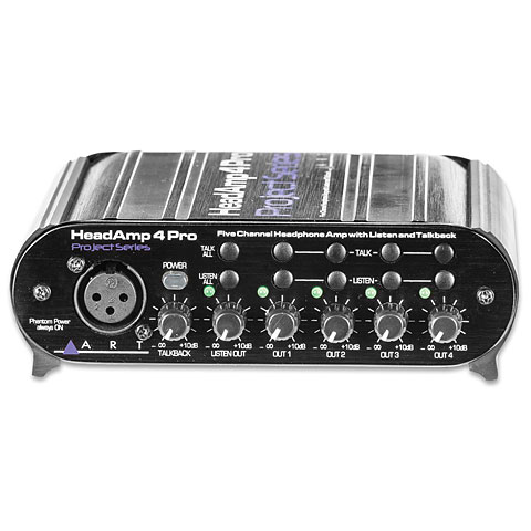 Kopfhörerverstärker ART HeadAmp 4 Pro