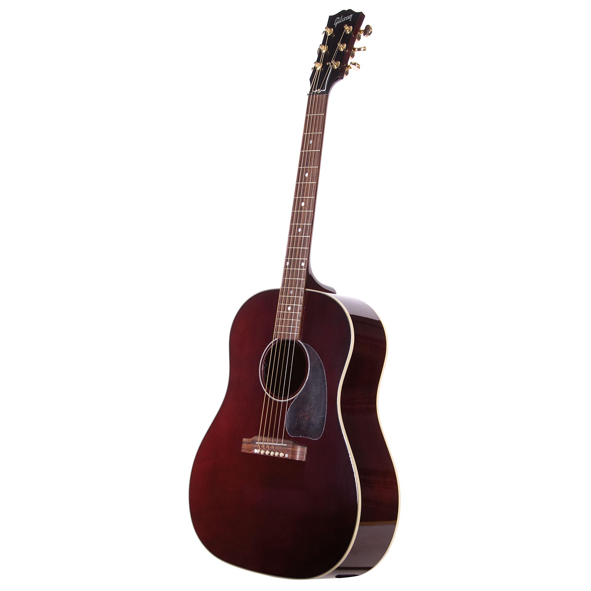 Gibson J 45 Wine Red Ltd 171 Akustisk Gitarr