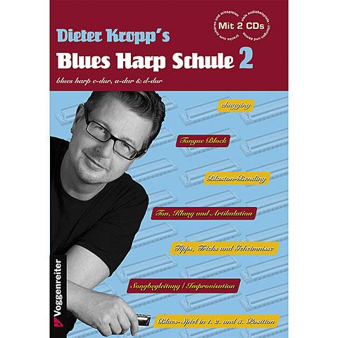 Voggenreiter Dieter Kropp's Blues Harp Schule 2