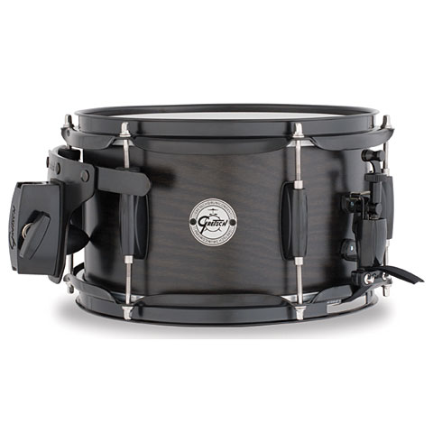 "Snare Drum Gretsch Drums Full Range 10"" x 6"" Satin Ebony Ash"