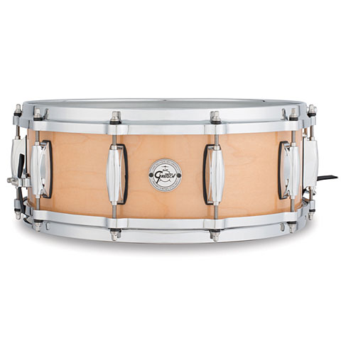 "Gretsch Drums Full Range 14"" x 5"" Natural Gloss Maple"