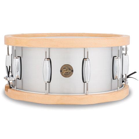 Gretsch Full Range 14  x 6,5 , Aluminum / Wood Hoop Snare
