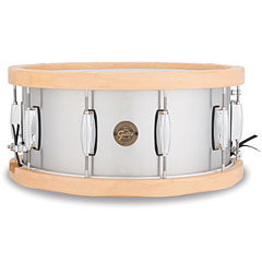 "Gretsch Drums Full Range 14"" x 6,5"", Aluminum / Wood Hoop Snare « Snare Drum"