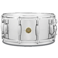 "Gretsch Drums G-4000 USA 14"" x 6,5"" Chrome over Brass « Snare drum"