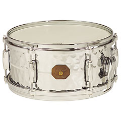 Gretsch Drums G-4000 G-4168-HB Hammered Chrome over Brass « Caisse claire