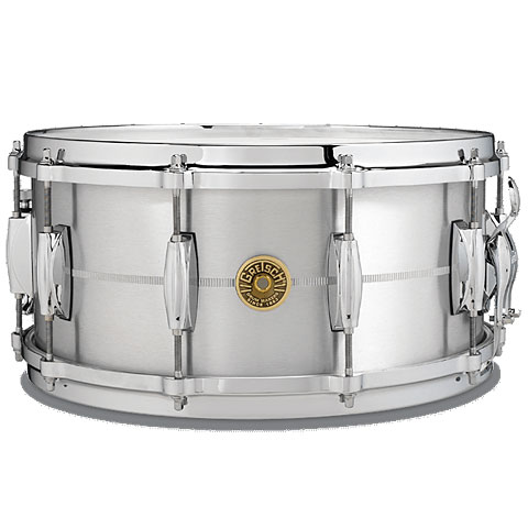 "Snare Drum Gretsch Drums USA 14"" x 6,5"" Solid Aluminium Snare"
