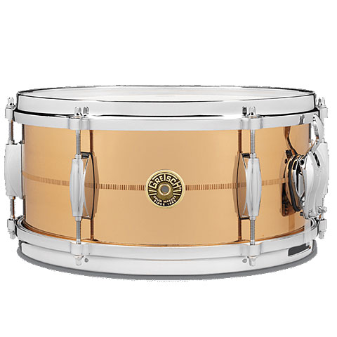 "Snare Gretsch Drums G-4000 13"" x 6"" Phosphor Bronze"