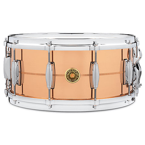 "Snare Gretsch Drums USA 14"" x 6,5"" Phosphor Bronze Snare"