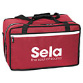 Custodia per percussione Sela Cajon Bag Red