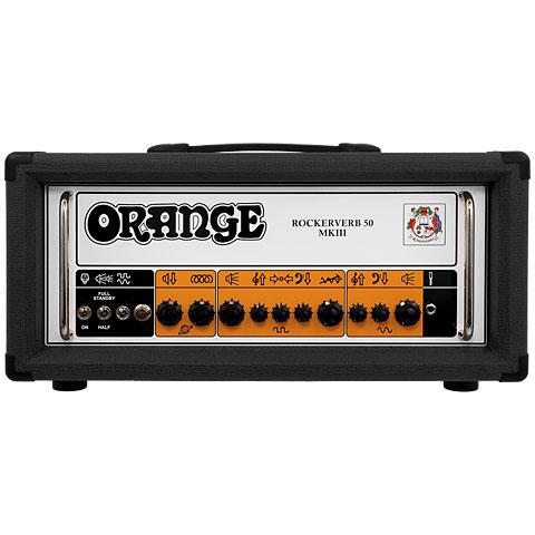 Tête ampli guitare Orange Rockerverb 50H MK III BK