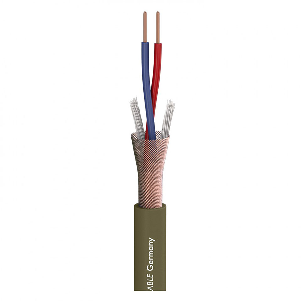 audio wiring sommer cable captain flexible olivgr�n