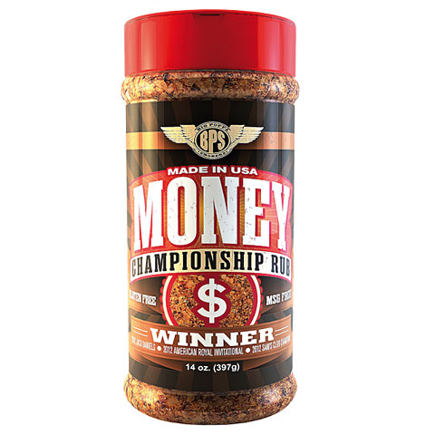 Big Poppa Smokers BPS Money Rub 14 oz/397 g