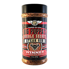 Big Poppa Smokers BPS Double Secret Steak Rub 14 oz/397 g