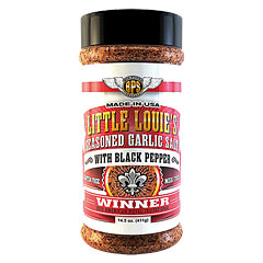 Big Poppa Smokers BPS Lil Louie's Garlic Salt w/Pepper 14.5 oz/411g