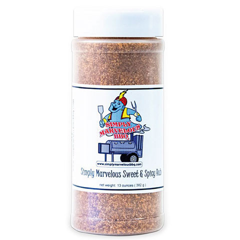 Simply Marvelous Sweet and Spicy Rub 13 oz/368 g