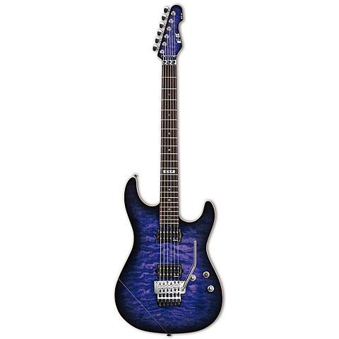 ESP E-II ST-2QM Rosewood RDB « Guitare électrique