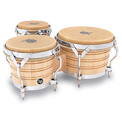 Latin Percussion Generation III LP202-AW Triple « Bongos