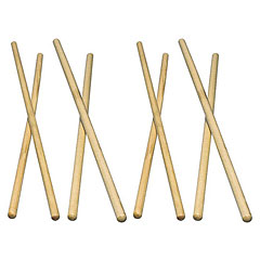 Latin Percussion LP248D Timbale Sticks Hickory « Baguettes timbale