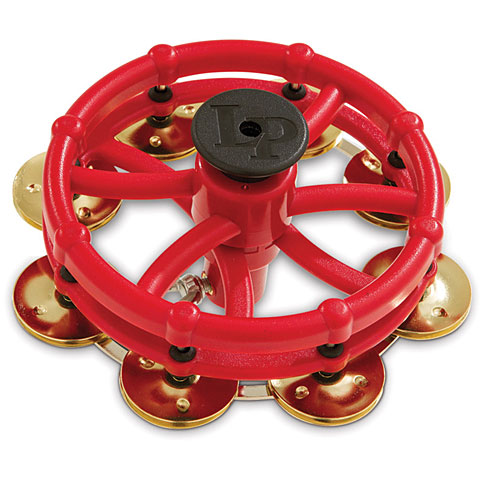 Latin Percussion LP193B Click Hi-Hat Tambourine Brass Jingles