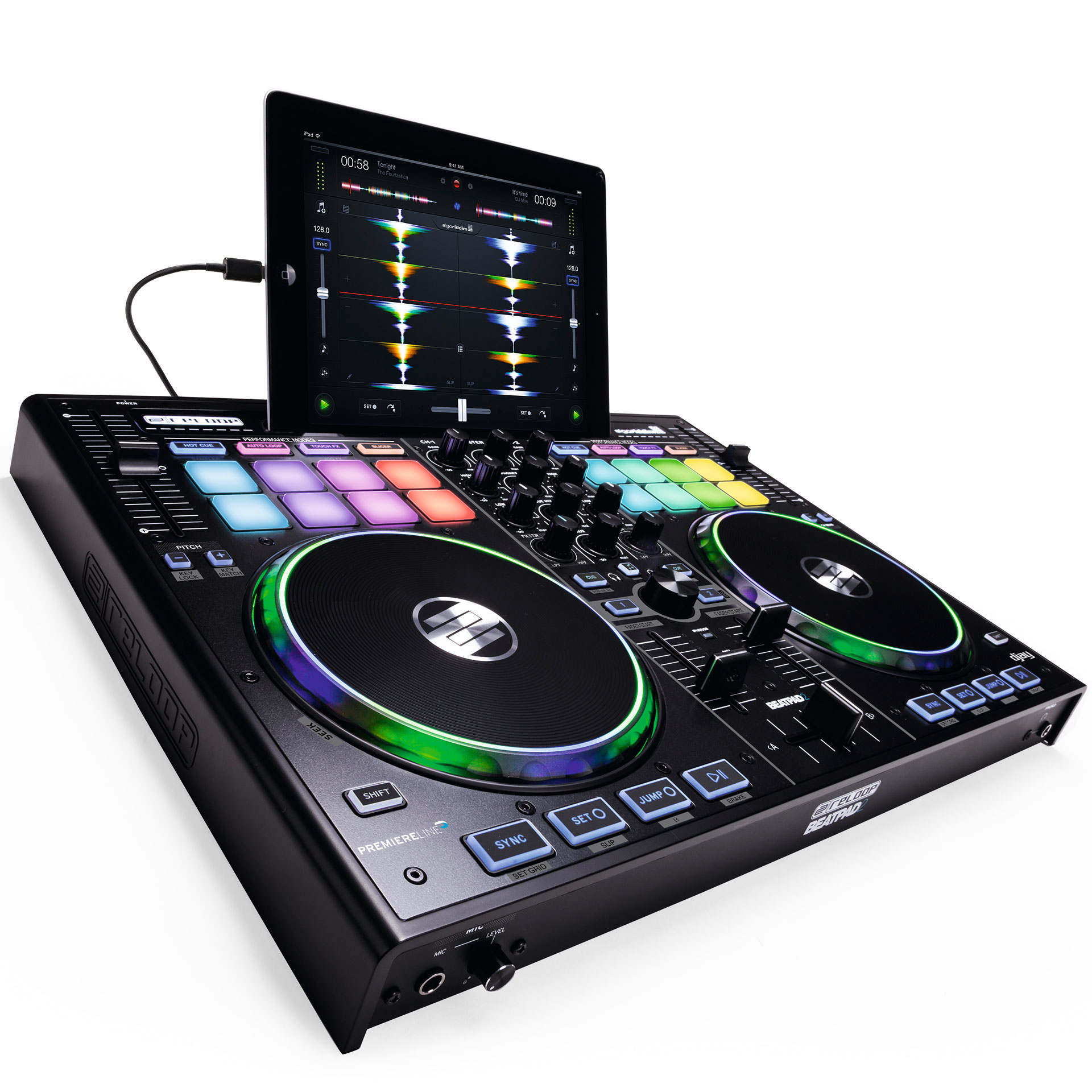 Reloop Beatpad 2 Dj Controller Musik Produktiv