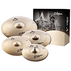 Zildjian A Custom Medium Box 14/16/18/20 « Pack de cymbales