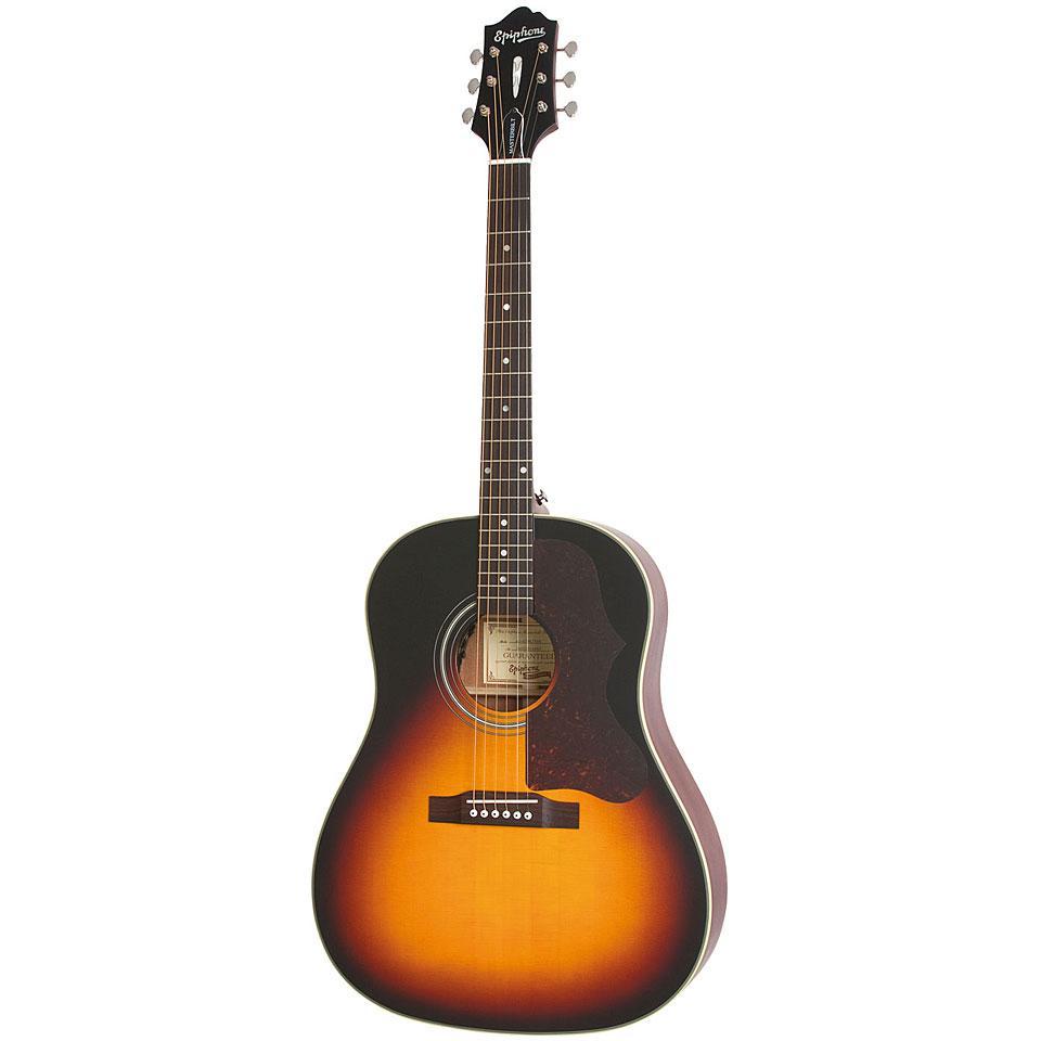 epiphone masterbilt aj 45me sloped shoulder acoustic guitar. Black Bedroom Furniture Sets. Home Design Ideas