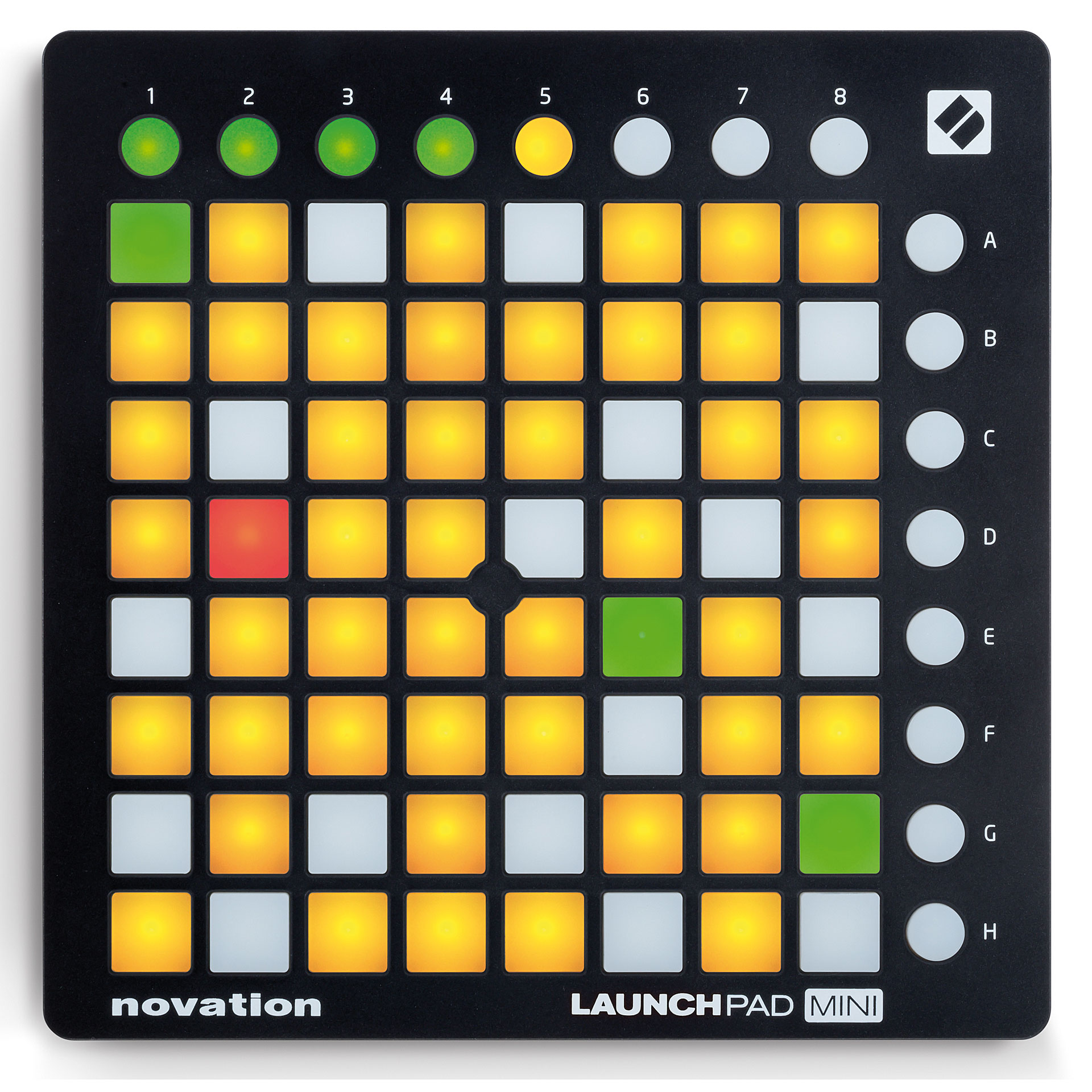 novation launchpad mini mk2 midi controller. Black Bedroom Furniture Sets. Home Design Ideas