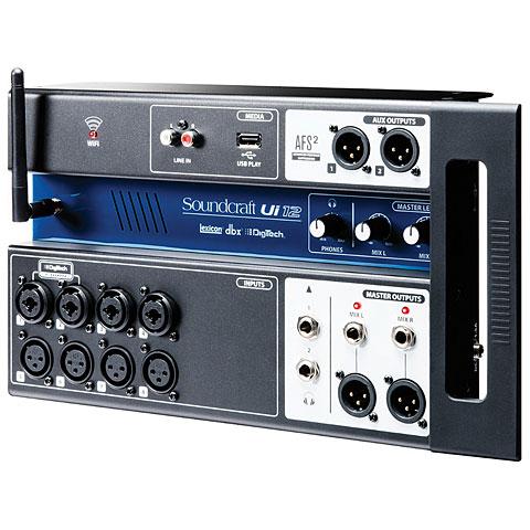 Mesa de mezclas digital Soundcraft Ui12
