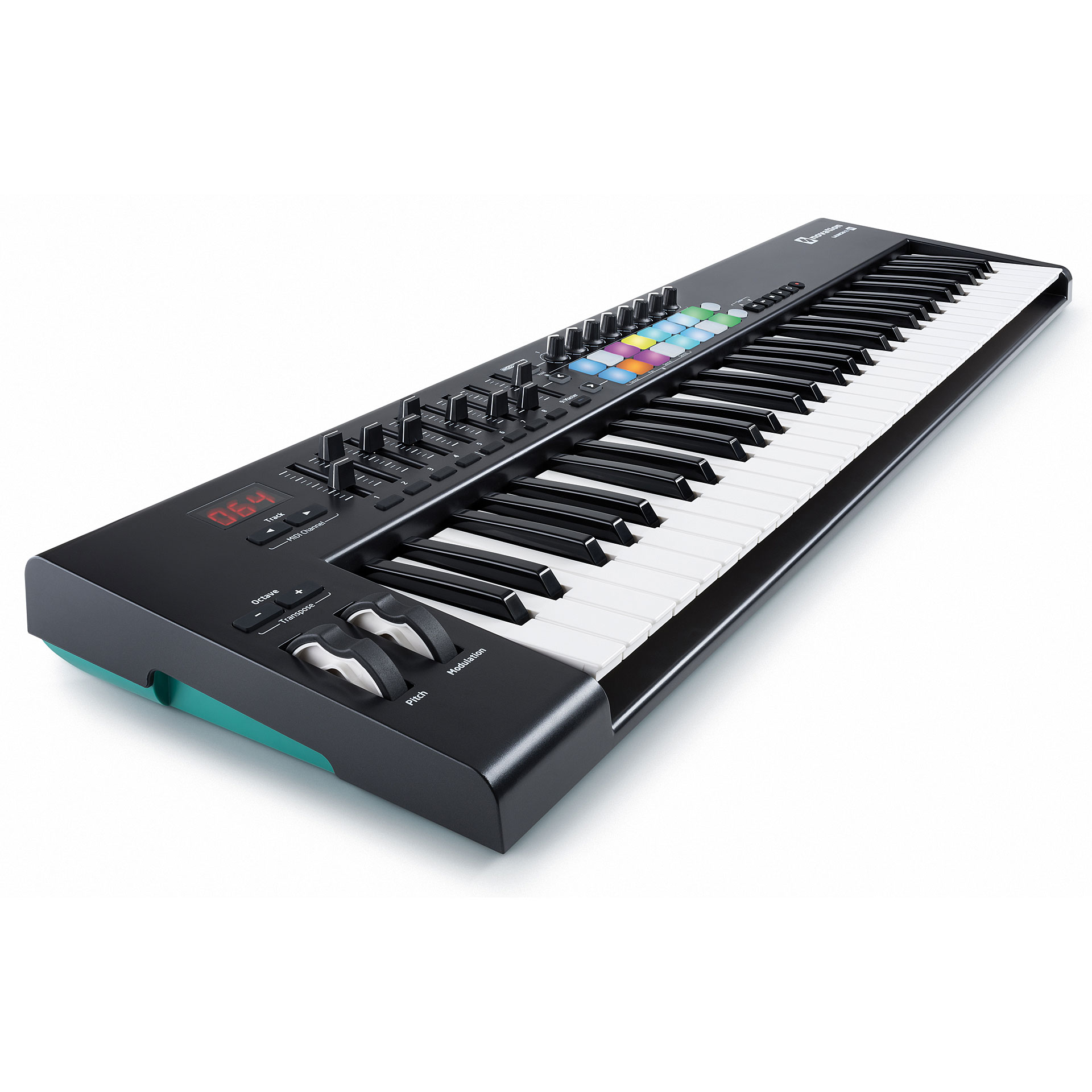 novation launchkey 61 mk2 clavier ma tre. Black Bedroom Furniture Sets. Home Design Ideas