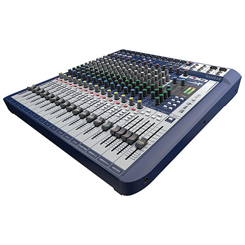 Console de mixage Soundcraft Signature 16