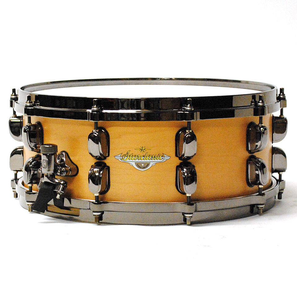Tama starclassic maple mas1455bn vam snare drum for Classic house drums