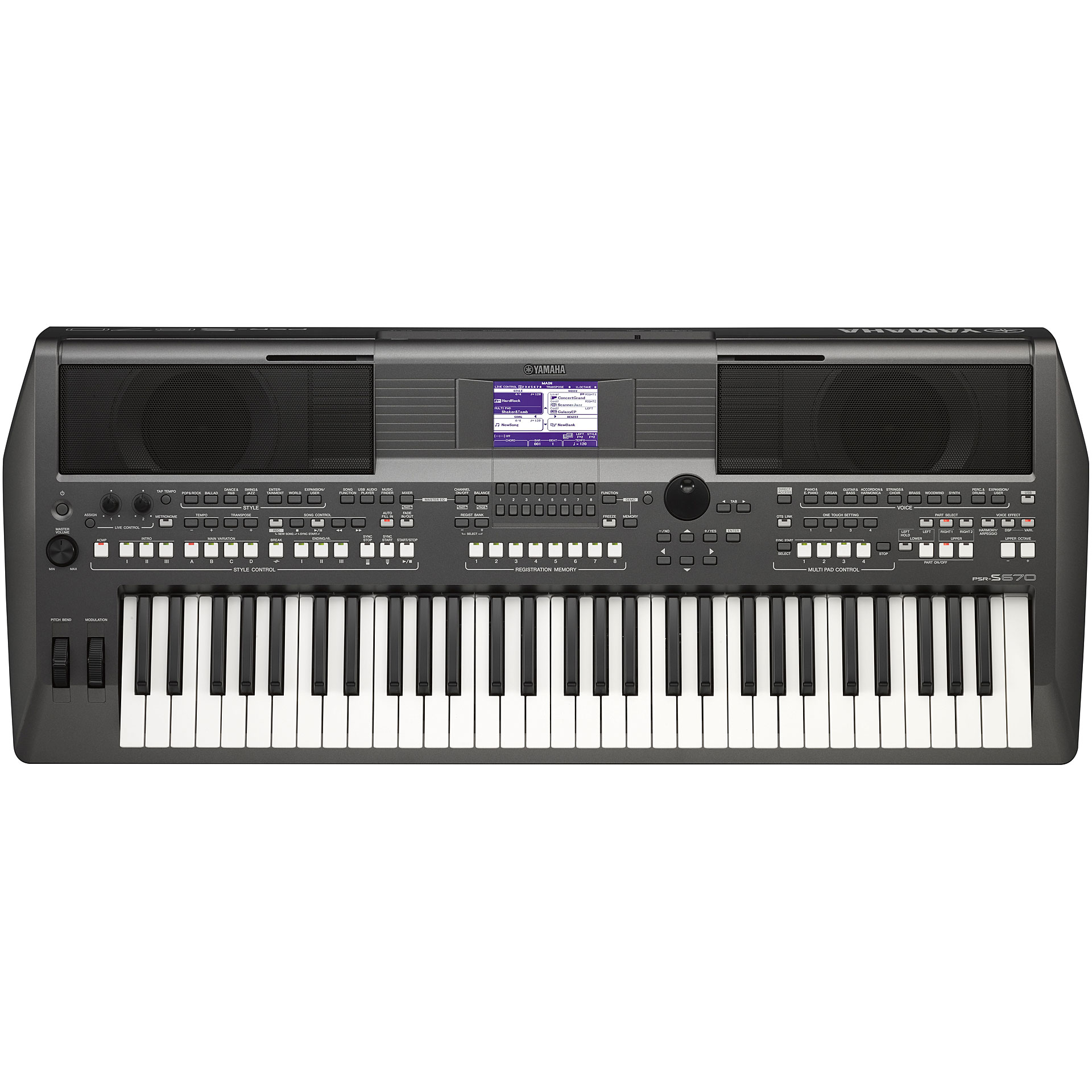 Yamaha psr s670 keyboard for Yamaha synthesizer keyboard