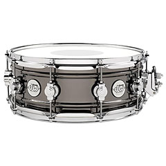"DW Design 14"" x 5,5"" Black Nickel over Brass « Snare"