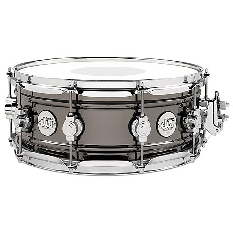"Snare Drum DW Design 14"" x 6,5"" Black Nickel over Brass Snare Drum"