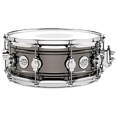 "DW Design 14"" x 6,5"" Black Nickel over Brass Snare Drum « Snare drum"