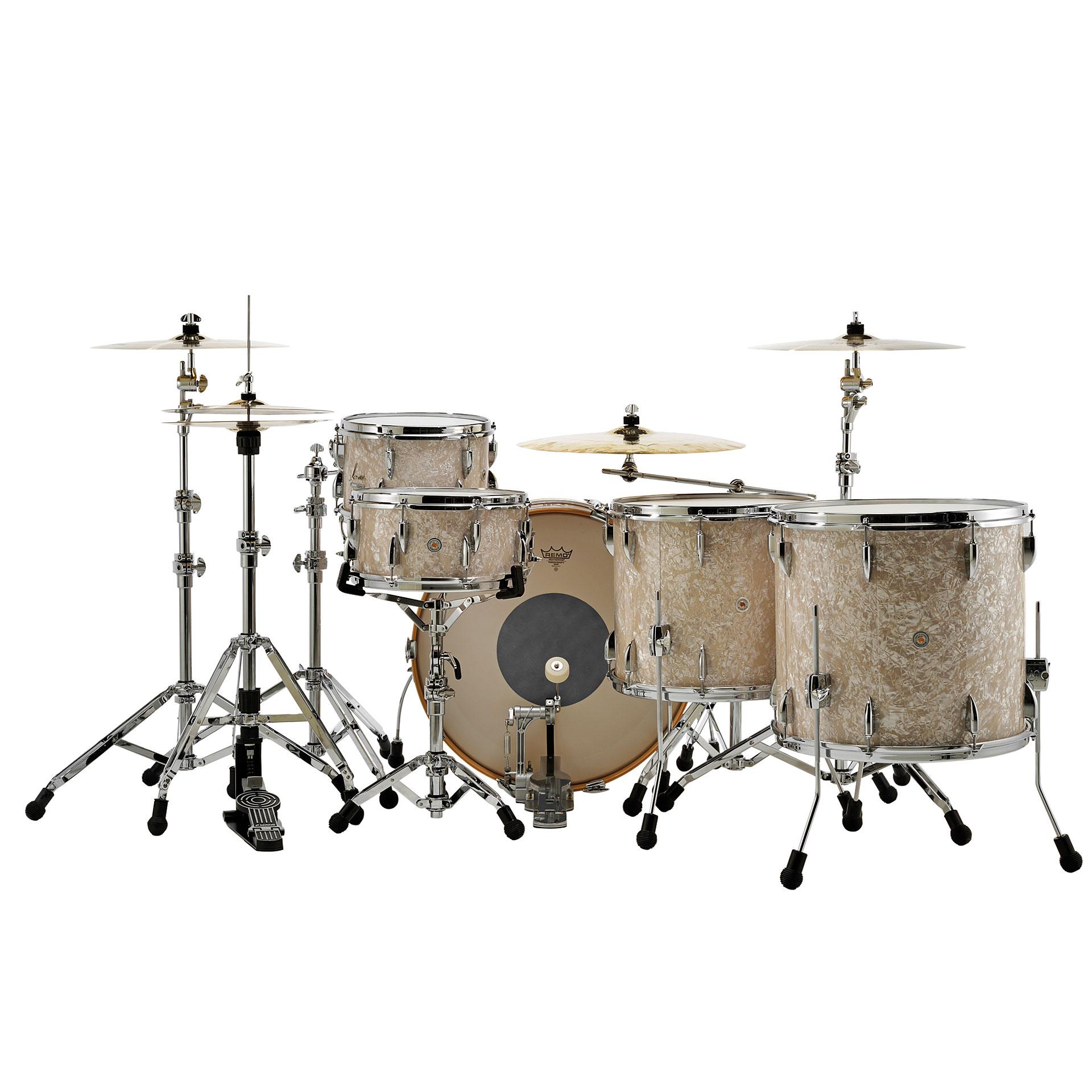Sonor vintage series vt15 rock vintage pearl drum kit for Classic house drums