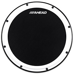 "AHead 14"" S-Hoop Marching Practice Pad White / Black « Pad d'entraînement"