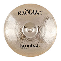 "Istanbul Mehmet Radiant 17"" Medium Crash « Cymbale Crash"