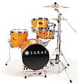 Schlagzeug Sakae Pac-D Orange Compact Drumset