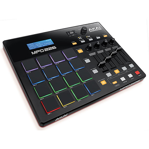 Controlador MIDI Akai MPD226