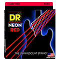 Cuerdas bajo eléctrico DR Neon Red Medium