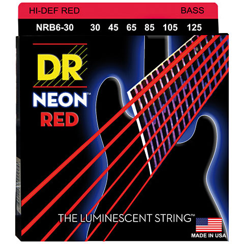 DR Neon Red Medium 6