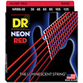 DR Neon Red Medium 6 « Electric Bass Strings
