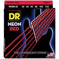 DR Neon Red Medium 6 « Saiten E-Bass