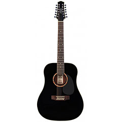 Ashton D25/12 BK « Guitare acoustique