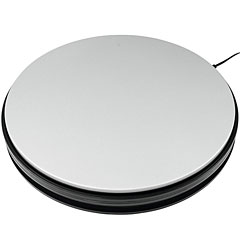 Europalms Rotary Plate 45 cm up to 50 kg silver « Decoración