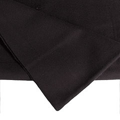LightTeknik Backdrop 3 x 3 m black « Molton