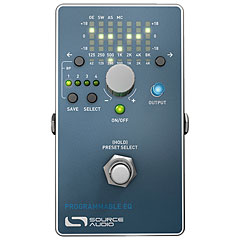 Source Audio Programmable EQ « Pedal bajo eléctrico